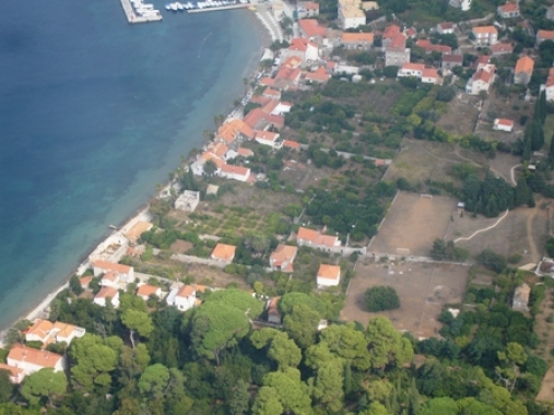 Lopud seafront building plot for sale